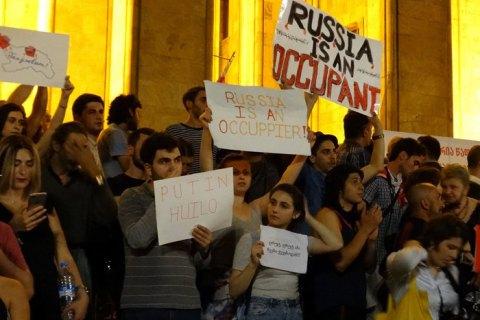 МВД Грузии расследует беспорядки 20-21 июня как мятеж с целью изменения конституционного строя