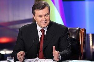 Янукович обещает Украине новые дороги