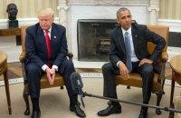Трамп обвинил Обаму в организации утечки информации в СМИ
