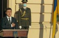 Зеленский поздравил с Днем защитников Украины