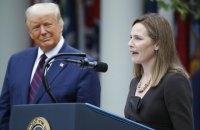Сенат США затвердив суддею Верховного суду Емі Коні Барретт, яку номінував Трамп