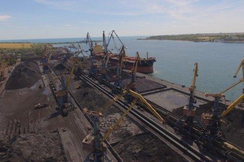 """У порт """"Південний"""" прибуло друге судно з вугіллям для станцій ДТЕК"""