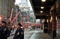 В Нью-Йорке на Манхэттене обрушился строительный кран, есть погибший