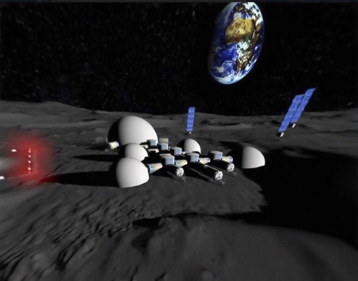 КБ 'Южное' показало концепт лунной базы