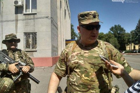Турчинов перевірив систему блокування російських каналів у Покровську