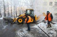 Киевлянин провалился в яму с кипятком