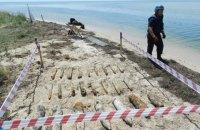 Водолазы ГосЧС подняли больше тысячи артснарядов с корабля, затонувшего в Черном море во время Второй мировой войны