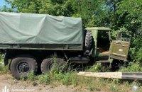 У Дніпропетровській області вантажівка Нацгвардії наїхала на легковик, двоє загиблих