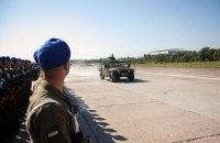 Военные провели первую репетицию парада ко Дню Независимости