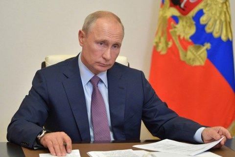 Путин об отравлении Навального: если бы хотели - травили бы до конца
