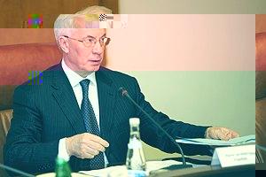 Азаров попрощався з керівництвом секретаріату Кабміну