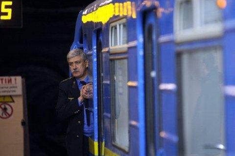 """На станції київського метро """"Житомирська"""" зламався поїзд"""