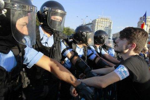 Число постраждалих через протести в Бухаресті зросло до 440