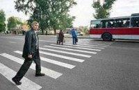Київ стає некомфортним місцем для пішоходів