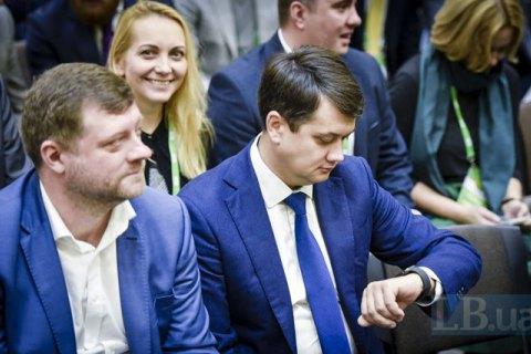 Корниенко: у Разумкова есть потенциал быть самостоятельным игроком