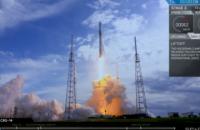 SpaceX запустила ракету Falcon 9 с космическим кораблем Dragon