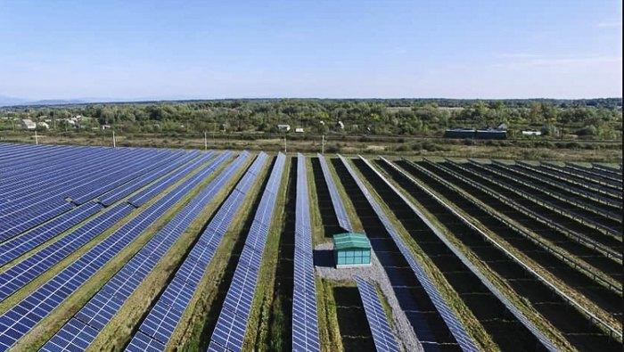 Сонячна електростанція на Закарпатті