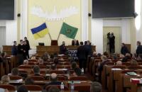 """В Харківській міськраді побили """"шаріївців"""""""