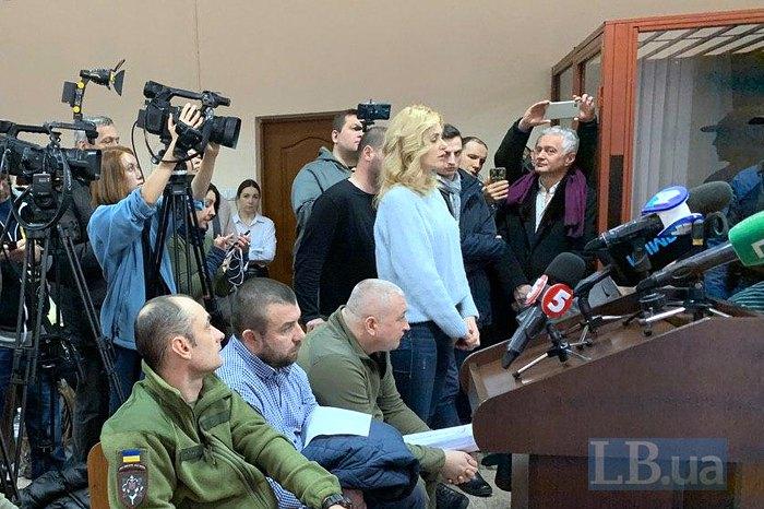 Ольга Капінус під час засідання