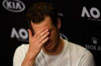 Маррей сенсаційно програв у 1/8 фіналу AusOpen