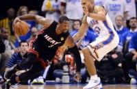 """НБА: """"Маямі"""" зрівнює рахунок у серії"""