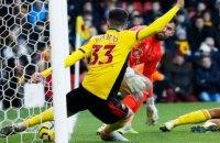 """Всего 1 см не хватило """"Тоттенхэму"""", чтобы судья засчитал им победный гол в матче Английской Премьер-Лиги"""