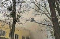 У Вінниці сталась масштабна пожежа в офісній будівлі, є загиблий