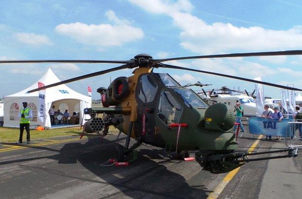Турецкий вертолет АТАК
