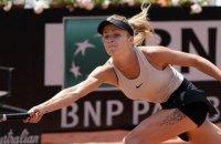 Свитолина стала первой финалисткой турнира в Риме