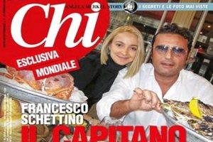 Журналисты раздобыли личное фото капитана Costa Concordia с юной молдаванкой