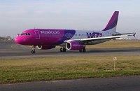 Wizz Air почала літати з України в Грузію