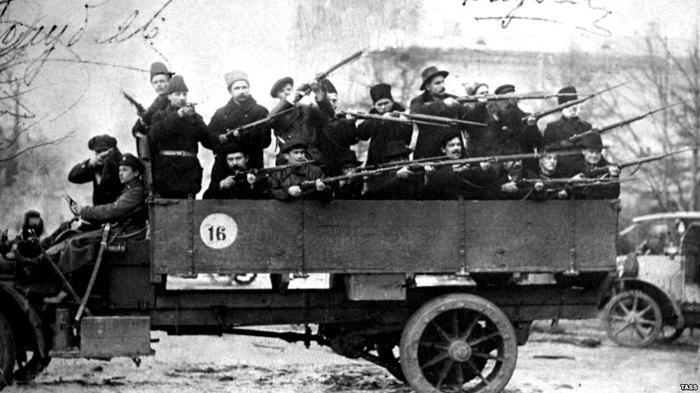Загін озброєних червоногвардійців