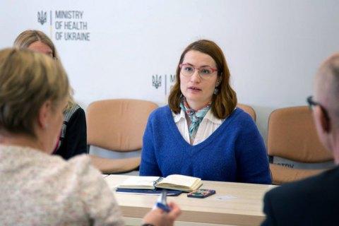 Замминистра здравоохранения Стефанишина подала в отставку