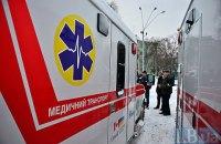 У Броварах 20-річний хлопець викрав швидку допомогу і застряг у снігу