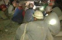 Шахтарі Нововолинська третю добу проводять підземний страйк