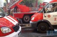 В Киеве произошел пожар в торговом центре