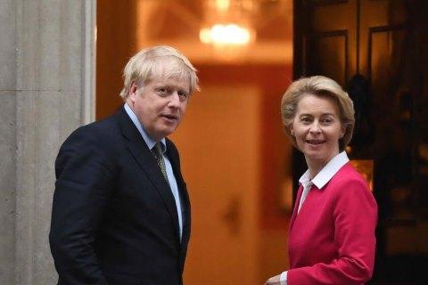 Джонсон и фон дер Ляйен попытаются лично спасти соглашение по Brexit