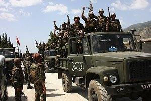 Сирийские повстанцы захватили город Аль-Шаддад