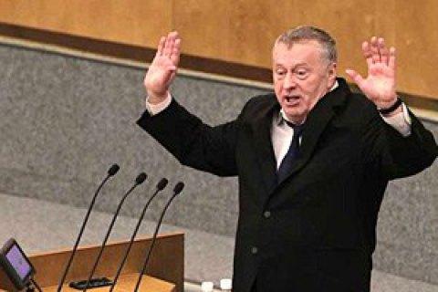 """Жириновский призвал посадить Собчак """"лет на пять"""" за слова о Крыме"""