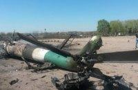 У Краматорську разом з вертольотом підірвали і літак