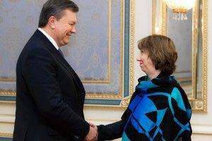Ештон: Дії Януковича спричинили найглибшу політичну кризу в Україні