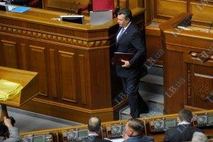 Янукович лично представит Раде новые правила выборов