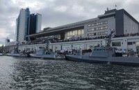 Четыре новых бронекатера вошли в состав ВМСУ