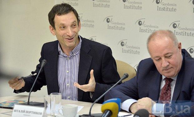 Віталий Портніков (зліва) і Віктор Чумак