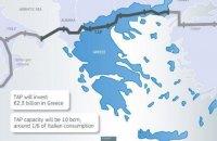 Италия разрешила строительство Трансадриатического газопровода, который снизит зависимость ЕС от российского газа