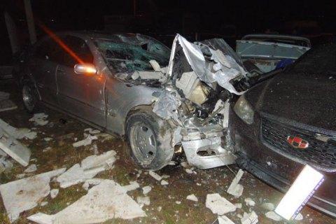 В Ровно в ДТП были повреждены 26 автомобилей