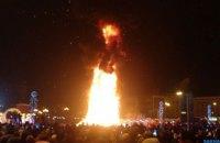 Головна ялинка Сахаліну згоріла новорічної ночі
