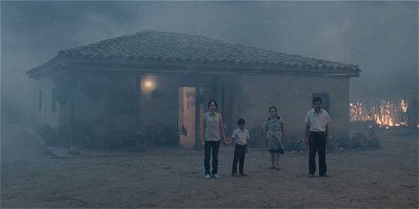 Кадр из фильма Земля и тень