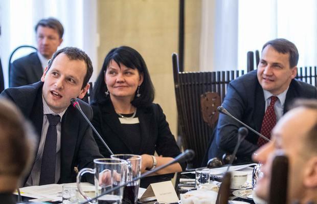 Томаш Шератікс (ліворуч на фото)