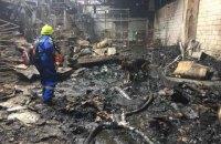 Из-за пожара на производстве в пригороде Киева погиб человек